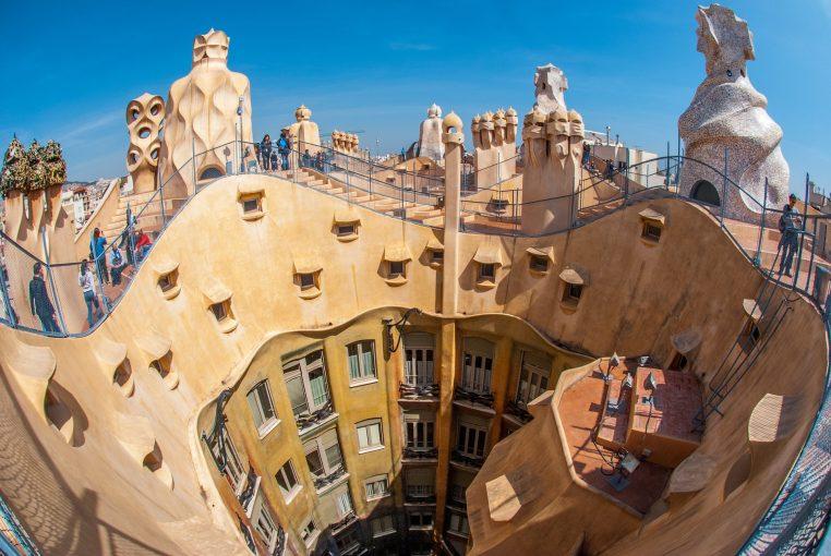 Private shuttle transfer: visit Antoni Gaudí's Casa Milà (La Pedrera) while you're there!